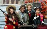 Al Roker Photo - Ann Curry AL Roker Matt Lauer and Katie Couric at Nbcs Today Show Annual Halloween Contest in Rockefeller Plaza at the NBC Studios on October 31 2003 Photo Henry McgeeGlobe Photos Inc 2003