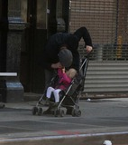 Jane Hawking Photo - Ethan Hawke daughter7544JPGNYC  101010EXCLUSIVE Ethan Hawke and daughter Clementine Jane Hawke (2 years old) walking home from a playground in the West VillageEXCLUSIVE photo by Adam Nemser-PHOTOlinknet