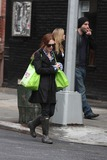 Julianne Moore Photo - NYC  092709Julianne Moore walking home from grocery shopping by herself in the West VillageDigital Photo by Adam Nemser-PHOTOlinknet
