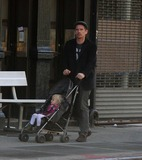 Jane Hawking Photo - Ethan Hawke daughter7548JPGNYC  101010EXCLUSIVE Ethan Hawke and daughter Clementine Jane Hawke (2 years old) walking home from a playground in the West VillageEXCLUSIVE photo by Adam Nemser-PHOTOlinknet
