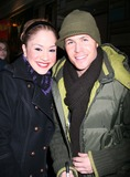 Ashley Parker Angel Photo - NYC  011907EXCLUSIVE  Ashley Parker Angel (former member of the boy band O-TOWN from the MTV reality series Making The Band and the reality series There and Back) and Diana DeGarmo (American Idol runner-up) at the stage door after his Broadway debut as Link Larkin in HAIRSPRAY at the Neil Simon TheatreDigital Photo by Adam Nemser-PHOTOlinknet