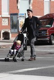 Jane Hawking Photo - Ethan Hawke daughter7556JPGNYC  101010EXCLUSIVE Ethan Hawke and daughter Clementine Jane Hawke (2 years old) walking home from a playground in the West VillageEXCLUSIVE photo by Adam Nemser-PHOTOlinknet