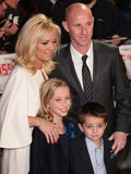 Nicky Butt Photo - Dec 01 2013 - London England UK - Class of 92 World Premiere Odeon West End Leicester SquarePictured Nicky Butt and family