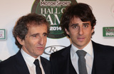 Alain Prost Photo - Jan 29 2014 - London England UK - Motor Sport Hall of Fame Royal Opera House LondonPictured Alain Prost and son Nicolas Prost