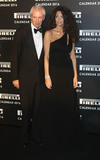 Afef Photo - November 30 2015 - Marco Tronchetti Provera and Afef Tronchetti Provera attending Gala Evening To Celebrate The Pirelli Calendar 2016 By Annie Leibovitz at The Roundhouse in Camden London UK