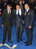 TJ Jackson Photo - May 12 2014 - London England UK - UK Premiere of X-Men Days Of Future Past Odeon Leicester SquarePhoto Shows Taj Jackson Taryll Jackson and TJ Jackson of 3T