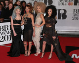 Asami Zdrenka Photo - Feb 19 2014 - London England UK - Brit Awards 2014 O2 Arena LondonPictured (L to R) Asami Zdrenka Amira McCarthy Shereen Cutkelvin and Jess Plummer of Neon Jungle