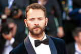 Alessandro Borghi Photo - VENICE ITALY - AUGUST 30 Alessandro Borghi walks the red carpet ahead of the Roma screening during the 75th Venice Film Festival at Sala Grande on August 30 2018 in Venice Italy(Photo by Laurent KoffelImageCollectcom)