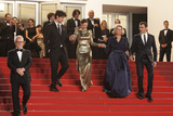 Nicole Garcia Photo - CANNES FRANCE - MAY 15 Louis Garrel Marion Cotillard Nicole Garcia and Alex Brendemuehl leave the From The Land Of The Moon (Mal De Pierres) premiere during the 69th annual Cannes Film Festival at the Palais des Festivals on May 15 2016 in Cannes France(Photo by Laurent KoffelImageCollectcom)