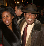AL ROCKER Photo - Deborah Roberts and husband Al Roker attending the opening night for the Broadway Revival of August Wilsons Ma Raineys Black Bottom New York February 6 2003
