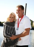 Hayley Roberts Photo - September 22 2012 New York CityDavid Hasselhoff and Hayley Roberts at the Virgin Active London Triathlon at ExCel on September 22 2012 in London