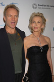 Sting Photo - Sting and Trudie  at La Dolce Vita New York Fundraiser at the Metropolitain Pavilion which they hosted