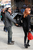 Bruce Springsteen Photo - August 6 2015 New York CityBruce Springsteen and  Patti Scialfa made an appearance on the Daily Show with Jon Stewart on August 6 2015 in New York City Credit Kristin CallahanACE Picturestel (212) 243 8787 or (646) 769 0430