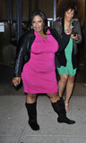 Yamaneika Saunders Photo - April 12 2015 New York CityComedian Yamaneika Saunders leaves Watch What Happens Live on April 12 2015 in New York CityPlease byline Curtis MeansACE PicturesACE Pictures Inc Tel 646 769 0430