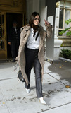 Demi Moore Photo - Demi Moore wears smashing casual outfit as she leaves her home in Manhattan Later she was seen having a business meeting with an unidentified woman (grey overcoat) at Ritz Carlton Hotel New York October 29 2003