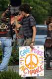 Naked Brothers Photo - Actor Nat Wolff (from the Naked Brothers Band) on the set of the new movie Peace Love and Misunderstanding on July 22 2010 in Woodstock NY