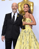 J K Simmons Photo - February 28 2016 LAJK Simmons and Alicia Vikander winner of the award for Best Actress in a Supporting Role for The Danish Girl  in the press room during the 88th Annual Academy Awards at Loews Hollywood Hotel on February 28 2016 in Hollywood CaliforniaBy Line Z16ACE PicturesACE Pictures Inctel 646 769 0430