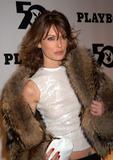 Playboy Magazine Photo - Lara Flynn Boyle at the celebration of the 50th Anniversary of Playboy Magazine New York November 5 2003