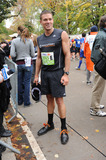 ANDY BALDWIN Photo - Andy Baldwin at the  ING New York City Marathon on November 1 2009 in New York City