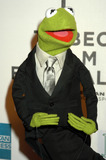 Kermit the Frog Photo - NEW YORK APRIL 27 2005    Kermit the Frog at the Muppets Wizard of Oz premiere held at the Tribeca Performing Arts Center