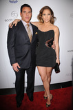 SCOTT BARNES Photo - Makeup artist Scott Barnes and actress Jennifer Lopez arriving at the launch party for Scott Barnes About Face book at Provocateur at The Hotel Gansevoort on January 20 2010 in New York City