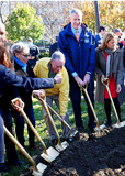 Mayor Michael Bloomberg Photo - November 20 2015 New York CityActress Bette Midler MayorBill de Blasio and former Mayor Michael Bloomberg attend the planting of the one millionth tree in the Bronx on November 20 2015 in New York CityBy Line Curtis MeansACE PicturesACE Pictures Inctel 646 769 0430