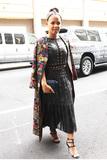 Alice  Olivia Photo - September 13 2016 New York CityChristina Milian was seen arriving to Alice  Olivia fashion show in New York City on September 13 2016Credit Kristin CallahanACE Picturestel 646 769 0430