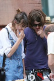 Arctic Monkeys Photo - MTV host Alexa Chung from the show Its On with Alexa Chung was seen walking around Soho with her boyfriend Alex Turner from the rock band Arctic Monkeys