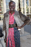 Alek Wek Photo - April 6 2016 New York CityAlek Wek arriving at the 7th Annual Women In The World Summit opening night at the David H Koch Theater at the Lincoln Center on April 6 2016 in New York CityBy Line Nancy RiveraACE PicturesACE Pictures Inctel 646 769 0430
