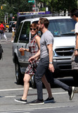 Kate Mara Photo - August 3 2015 New York CityActors Kate Mara and Jamie Bell go out for coffee in The East Village on August 3 2015 in New York CityBy Line Zelig ShaulACE PicturesACE Pictures Inctel 646 769 0430
