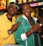 Al Shearer Photo - Shearer and Mehcad Brooks from Disneys Glory Road at McDonalds on 8th Avenue honoring Martin Luther King