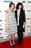 Lena Dunham Photo - Janaury 15 2014 LondonLena Dunham and Felicity Jones at the UK premiere of Girls the third series held at the Cineworld Haymarket on Janaury 15 2014 in London