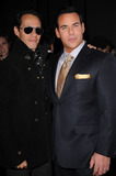 SCOTT BARNES Photo - Singer Marc Anthony and makeup artist Scott Barnes arriving at the launch party for Scott Barnes About Face book at Provocateur at The Hotel Gansevoort on January 20 2010 in New York City