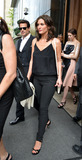 Alana de la Garza Photo - May 13 2014 New York CityActors Ioan Gruffudd and Alana de la Garza  leaves a downtown hotel on May 13 2014 in New York City