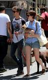 Adam Shulman Photo - June 15 2014 New York CityActress Anne Hathaway and her husband Adam Shulman walk their dogs in Brooklyn on June 15 2014 in New York City