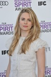 Brit Marling Photo - Brit Marling at the 2012 Film Independent Spirit Awards on the beach in Santa Monica CAFebruary 25 2012  Santa Monica CAPicture Paul Smith  Featureflash
