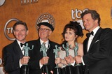 Anthony Andrews Photo - LtoR Anthony Andrews Geoffrey Rush Helena Bonham-Carter  Colin Firth - winners of Outstanding Cast in a Motion Picture award for The Kings Speech - at the 17th Annual Screen Actors Guild Awards at the Shrine AuditoriumJanuary 30 2011  Los Angeles CAPicture Paul Smith  Featureflash