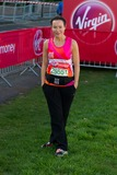 Amanda Mealing Photo - Amanda Mealing poses at the start of the 2014 Virgin Active London Marathon Blackheath Common London 13042014 Picture by Dave Norton  Featureflash