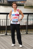 Amanda Mealing Photo - Amanda Mealing at the photocall for celebrities running the London marathon 2012 Tower Bridge London 21042012 Picture by Steve Vas  Featureflash