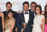 Andy Jordan Photo - Louise Thompson Andy Jordan Spencer Matthews Lucy Watson in the press room at the TV BAFTA Awards 2013 Royal Festival Hall London 12052013 Picture by Henry Harris  Featureflash