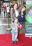 Anna Marie-Wayne Photo - Anna Marie-Wayne and children arriving for the Celebrity  Press Performance of Nickelodeons Dora the Explorer at the Apollo Theatre London 29082012 Picture by Henry Harris  Featureflash