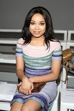 Dionne Bromfield Photo - Dionne Bromfield at London Fashion Week (LFW15) at Somerset House - Bora Asku Front Row London  20022015 Picture by James Smith  Featureflash