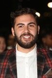 Andrea Faustini Photo - Andrea Faustini arriving for The MOBO Awards 2014 held at Wembley Arena London 22102014 Picture by James Smith  Featureflash