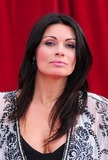Alison King Photo - Alison King arrives for the 2011 Soap Awards held at Granada Studios in Manchester 14052011 Picture by Simon BurchellFeatureflash