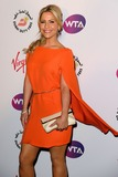 Heidi Range Photo - Heidi Range arriving for the 2012 WTA Pre-Wimbledon Party at the Roof Gardens in Kensington London 21062012 Picture by Steve Vas  Featureflash