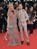 Xavier Dolan Photo - Sienna Miller  Xavier Dolan at the gala premiere for Macbeth at the 68th Festival de CannesMay 23 2015  Cannes FrancePicture Paul Smith  Featureflash