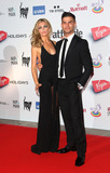 Aljaz Skorjanec Photo - Abbey Clancy and Aljaz Skorjanec at the Attitude Magazine Awards 2013 - Arrivals held at the Royal Courts of Justice London 15102013 Picture by Henry Harris  Featureflash