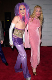Alexis Arquette Photo - 21JAN2000  Transvestite actor ALEXIS ARQUETTE (right)  friend CANDYASS at the Tanqueray London Import Party in Los Angeles Paul Smith  Featureflash