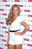 Aisleyne Hogan-Wallace Photo - Aisleyne Hogan Wallace arriving for The Stag Premiere at Vue Leicester Square London 130032014 Picture by Dave Norton  Featureflash