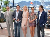 Adele Exarchopoulos Photo - Actors Jared Harris Jean Reno Charlize Theron Adele Exarchopoulos  Javier Bardem at the photocall for The Last Face at the 69th Festival de CannesMay 20 2016  Cannes FrancePicture Paul Smith  Featureflash
